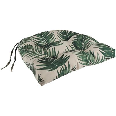 Picture of Single Seat Cushion in Green Fern
