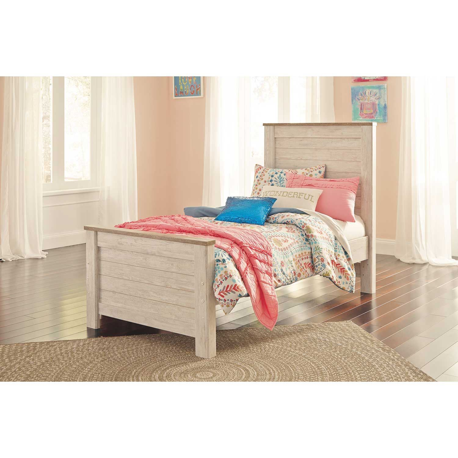 Ashley Furniture Texas Locations: Willowton Twin Panel Bed