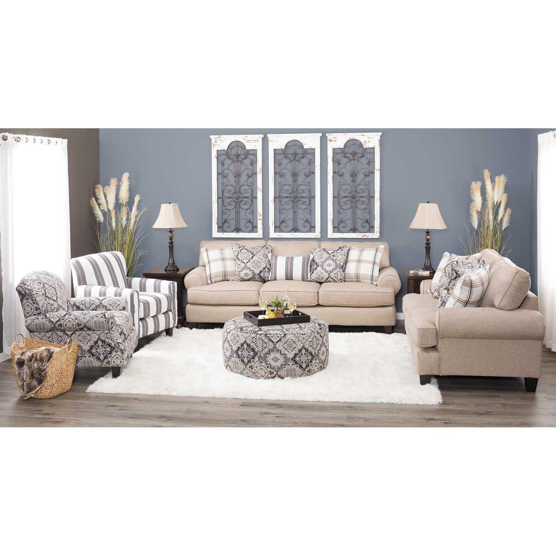 Whitaker Wheat Sofa E 420s Fusion Furniture Afw