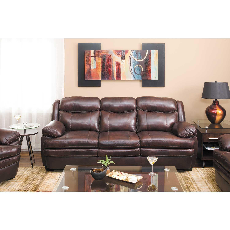 Hannalore Leather Sofa 0U0-153S