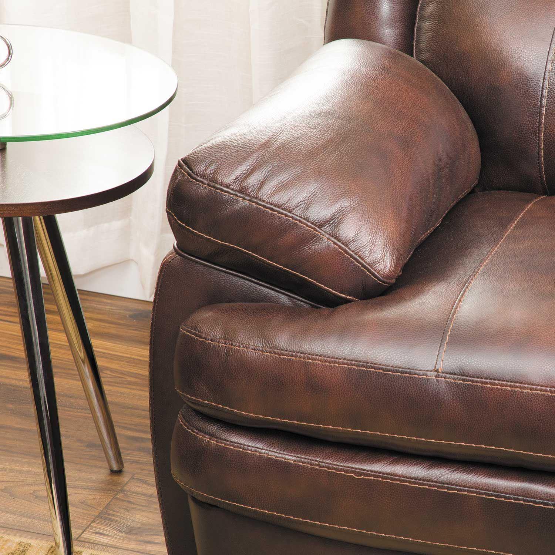 Ashley Furniture No Interest: Hannalore Leather Sofa 0U0-153S