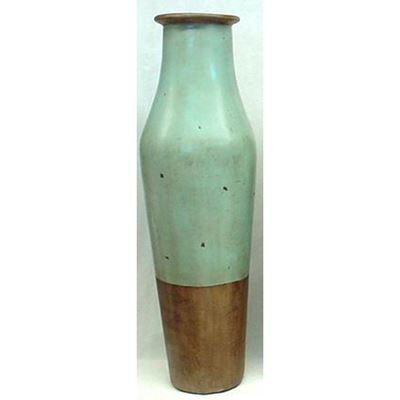 Picture of Angora Light Blue Floor Vase Large