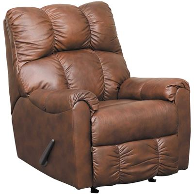 Imagen de Denarw Leather Rocker Recliner