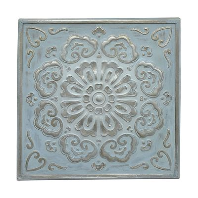 Picture of Blue Medallion Wall Decor
