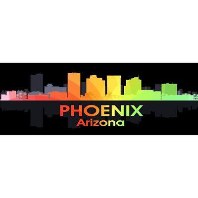 Phoenix AZ Night Lights 60x20