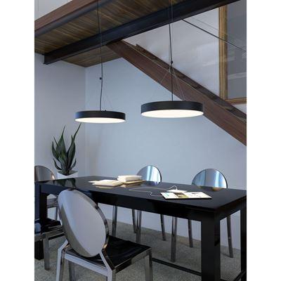 Picture of Apricot Ceiling Lamp Matte Black *D