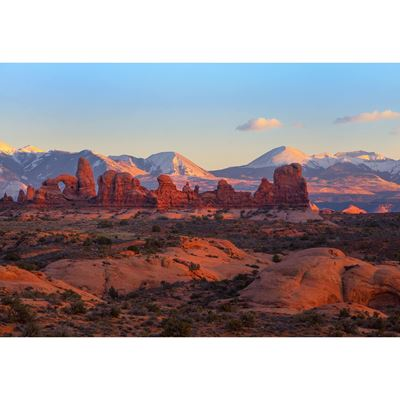 Turret Arch at Sunset 48X32