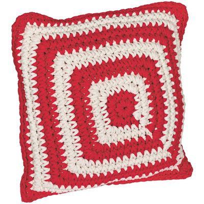 Picture of Red Cotton Rope Pillow
