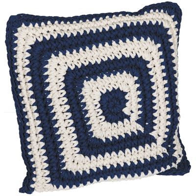 Picture of Blue Cotton Rope Pillow