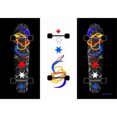 Skate Board 36x24