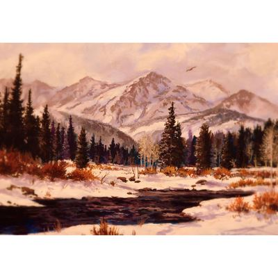 Winter's Touch 36x24