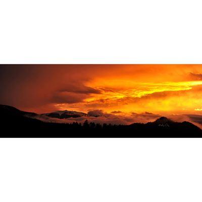 September Sunset 60X20