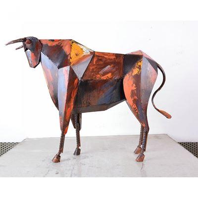 Imagen de Bull Metal Sculpture