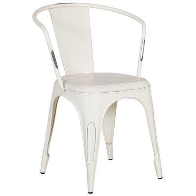 Imagen de Retro Cafe Metal Arm Chair