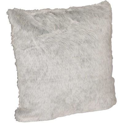 Picture of 20x20 Silver Fox Faux Fur Pillow