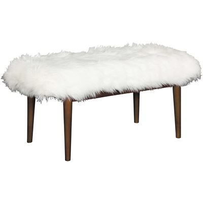 Picture of Mongolian Faux Fur Bench