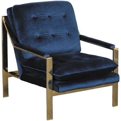 Colette Tufted Emerald Gold Chair Uiq294100gc Broadway