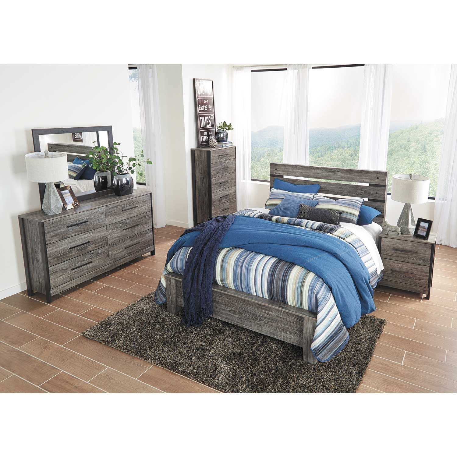 Ashley Furniture Manufacturers: Cazenfeld King Bed At AFW