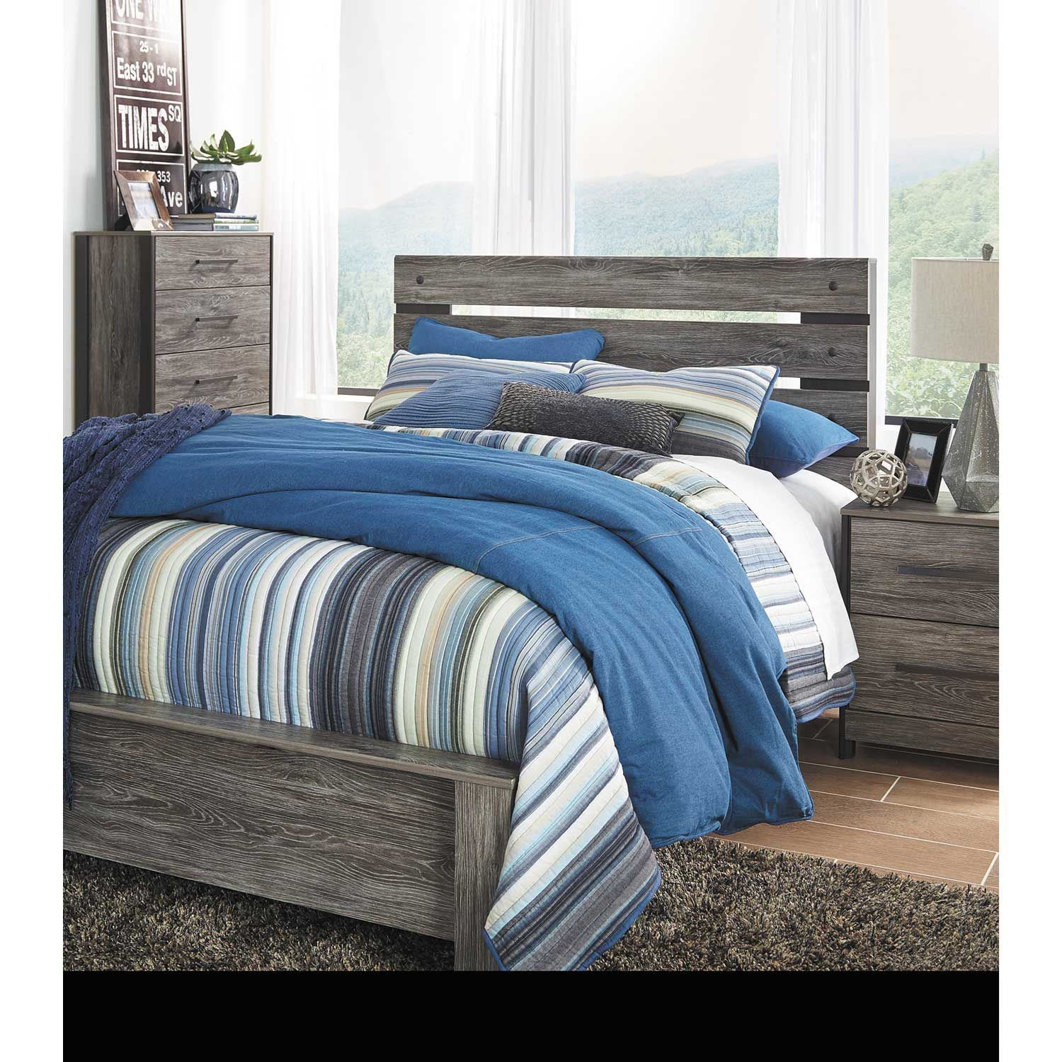 Ashley Home Store Locations: Cazenfeld Queen Panel Bed