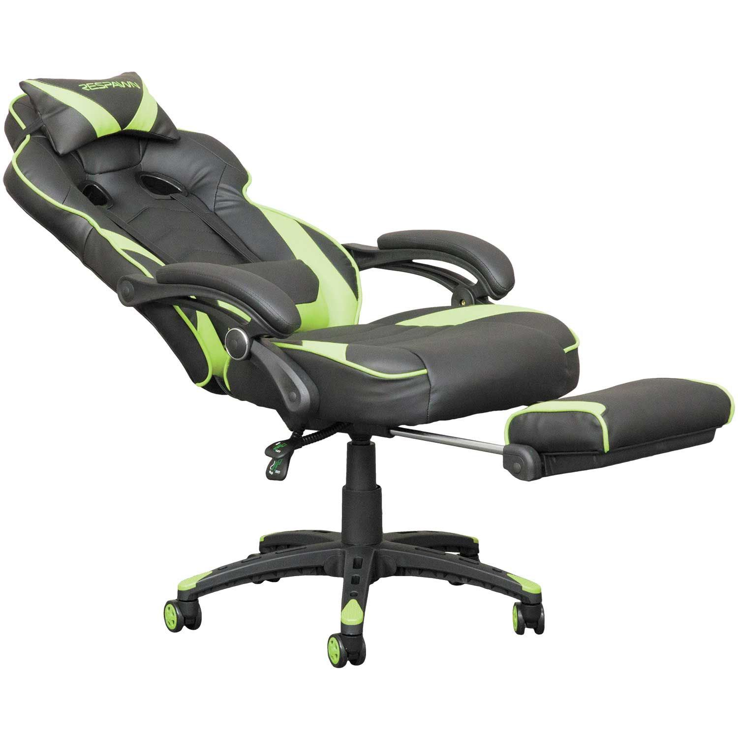 Respawn Reclining Gaming Chair Rsp 110 Grn Ofm
