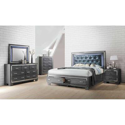 Imagen de Titanium 5 Piece Bedroom Set