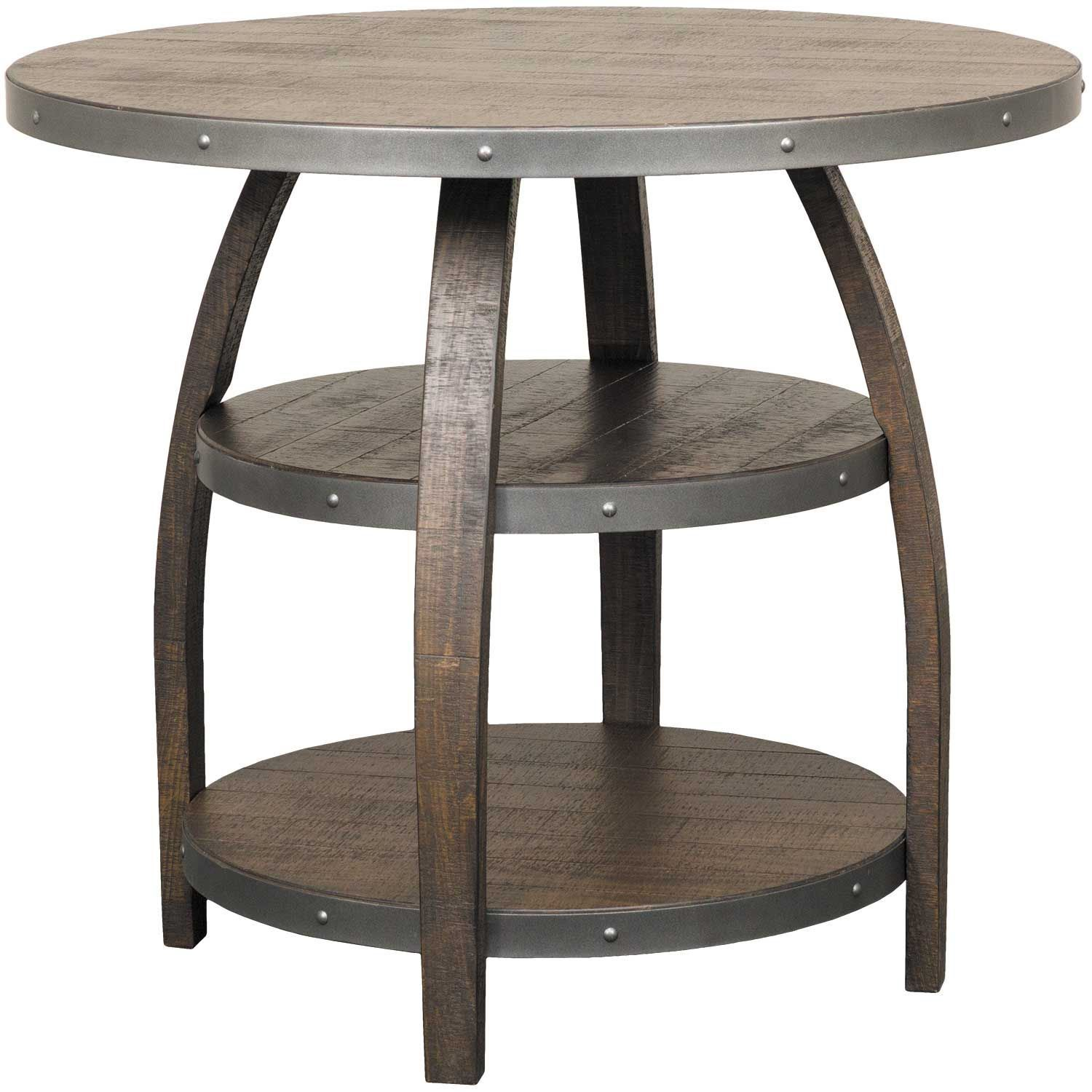 cigar round pub height table 1067tl 42 sunny designs afw. Black Bedroom Furniture Sets. Home Design Ideas
