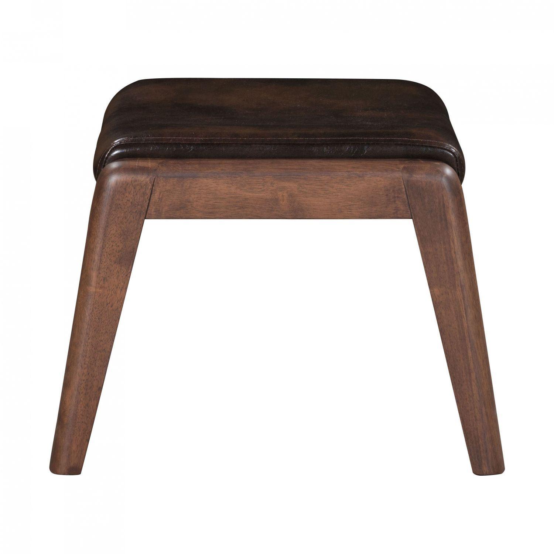 Bully Lounge Chair Ottoman Brown 100535 Zuo Modern