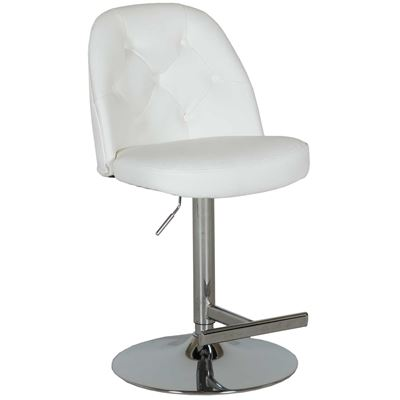 Picture of Archer White Adjustable Barstool