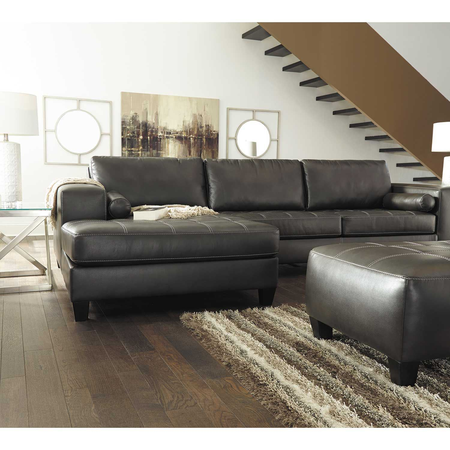 Nokomis 2 Piece Sleeper Sectional With Laf Chaise