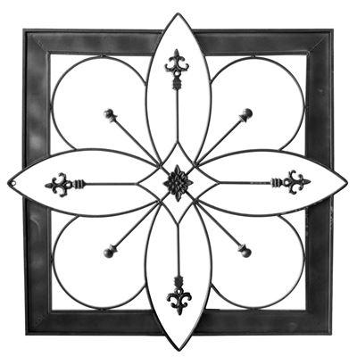 Imagen de Floral Medallion Wall Décor