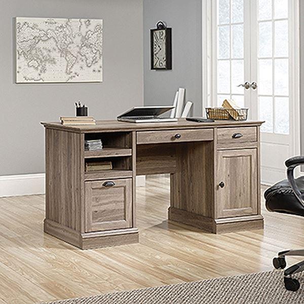 Barrister Lane Executive Desk Salt Oak D