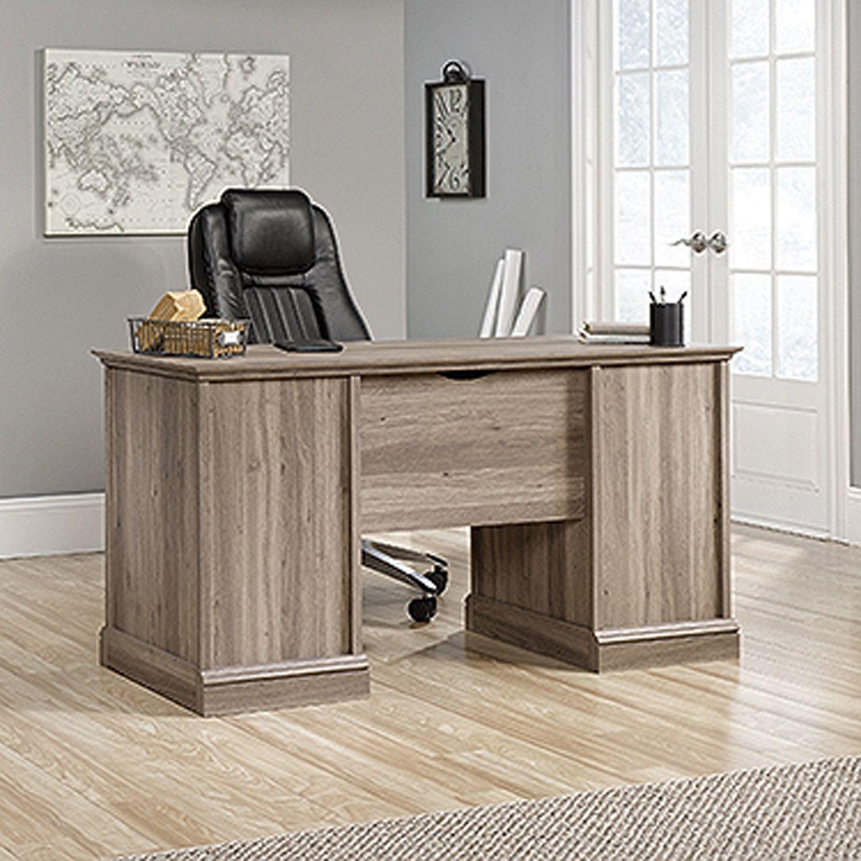 Barrister Lane Executive Desk Salt Oak