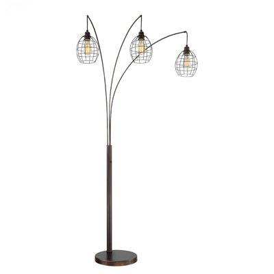 Imagen de Copper Industrial Arc Lamp