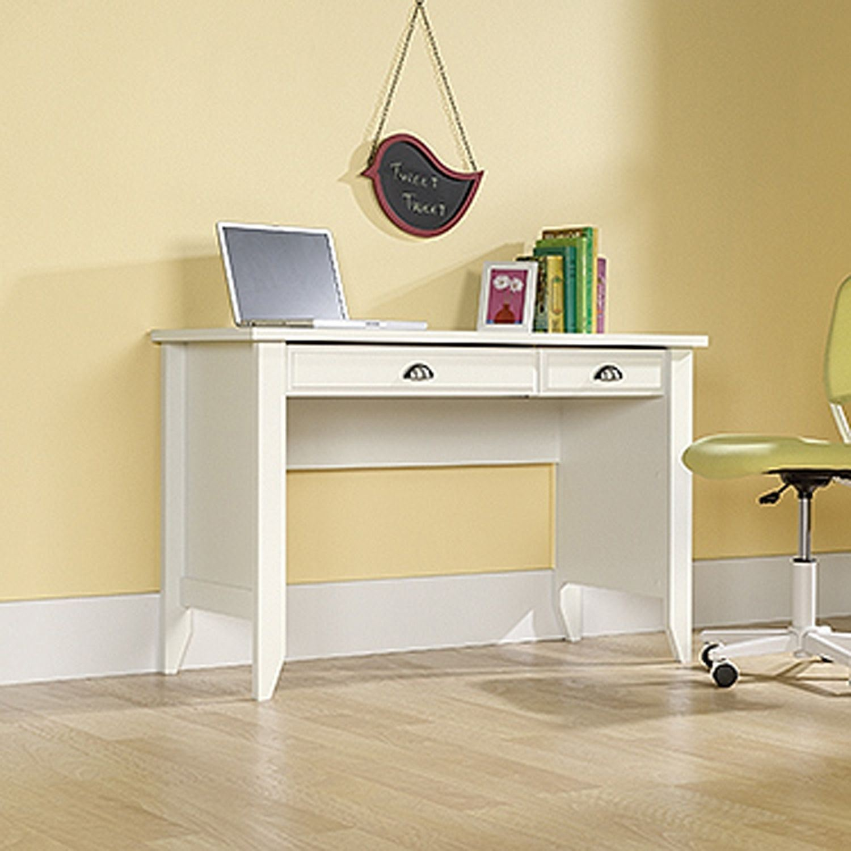 Shoal Creek Computer Desk Soft White * D | 411204 | Sauder ...