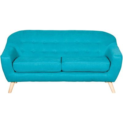 Picture of Kinsley Teal Tufted Sofa