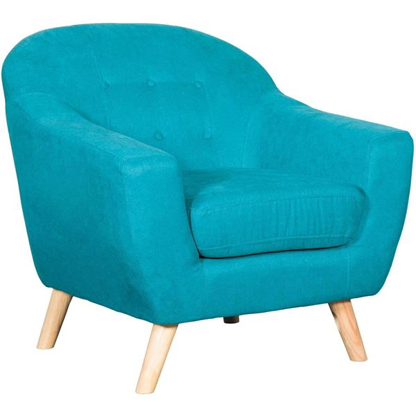 Picture of Kinsley Teal Tufted Chair