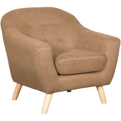 Picture of Kinsley Brown Tufted Chair