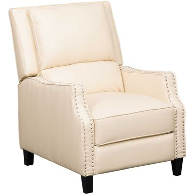Picture of Steelo Cream Push Back Recliner