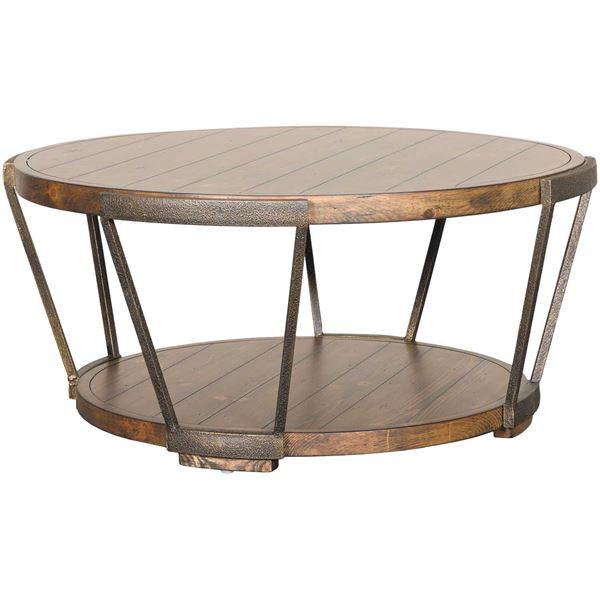 Yukon Round Cocktail Table