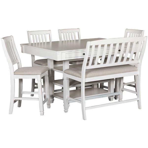 Gardenia 6 Piece Counter Dining Set