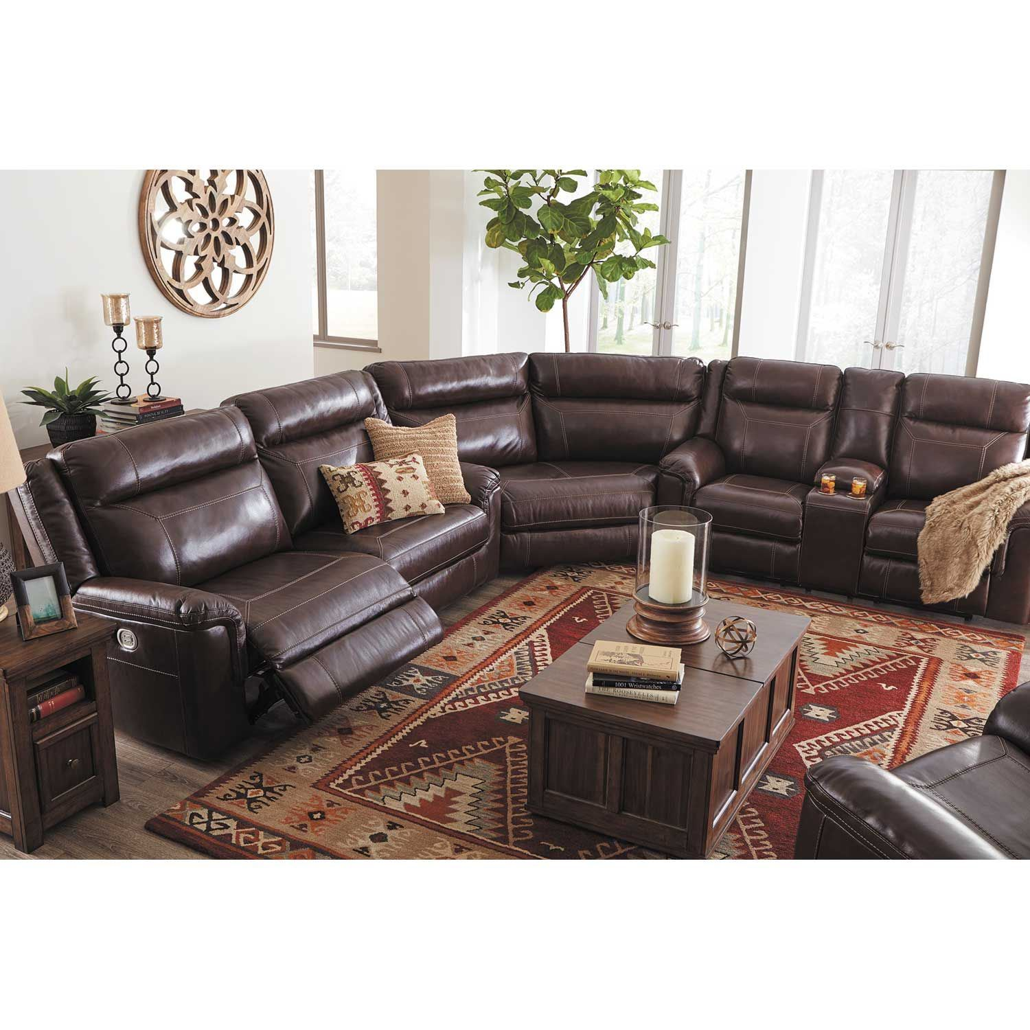 Ashley Furniture Manufacturers: Wyline 3 Piece Power Reclining Sectional