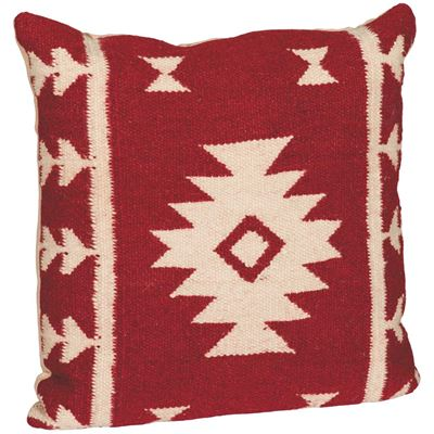 Picture of 18x18 Red Lone Star Pillow