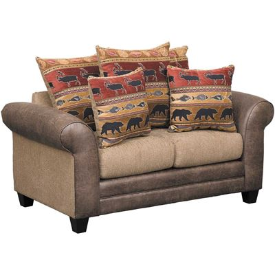 Picture of Bear Collage Loveseat
