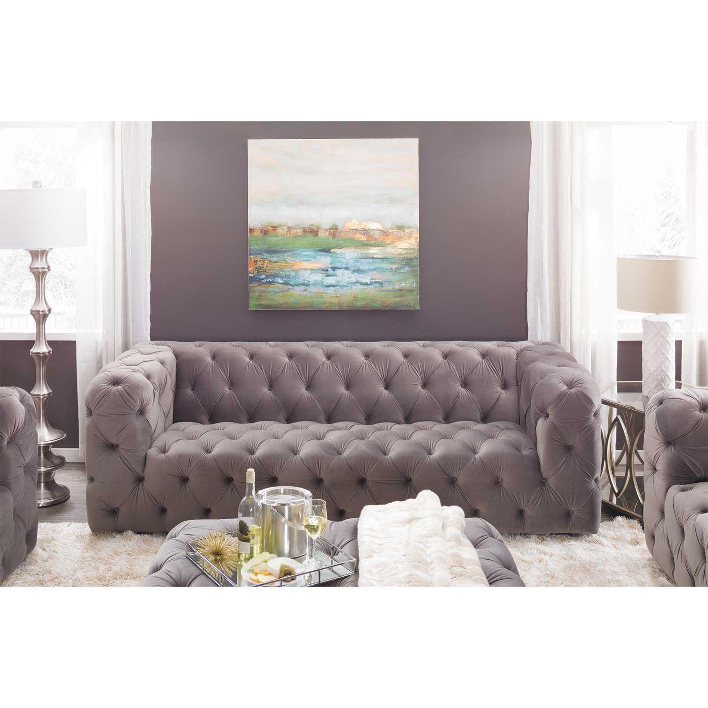 Sofia Tufted Grey Sofa My329 S3 Cc 26 Cambridge Home Afw