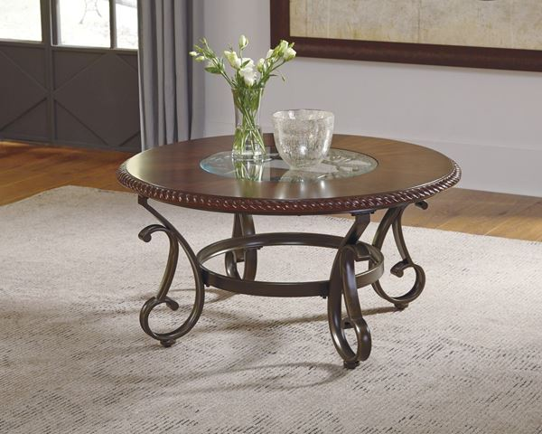 Gambrey Round Coffee Table D