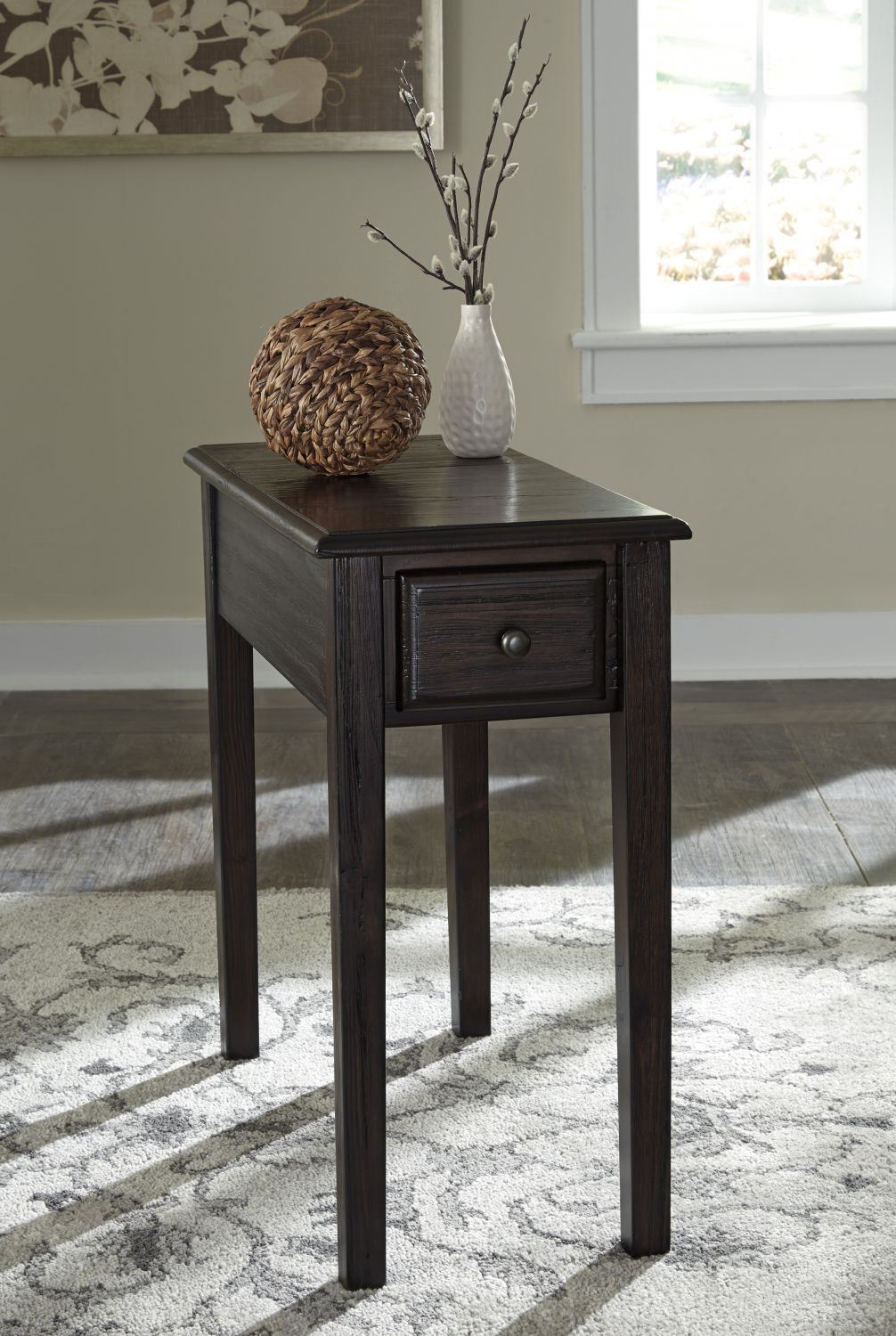 Solid Wood Chair Side End Table D T900 657 Ashley