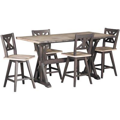 Urban Farmhouse Counter Height Table 2871 Urban Styles