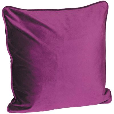 Picture of 18X18 Eggplant Velvet Pillow