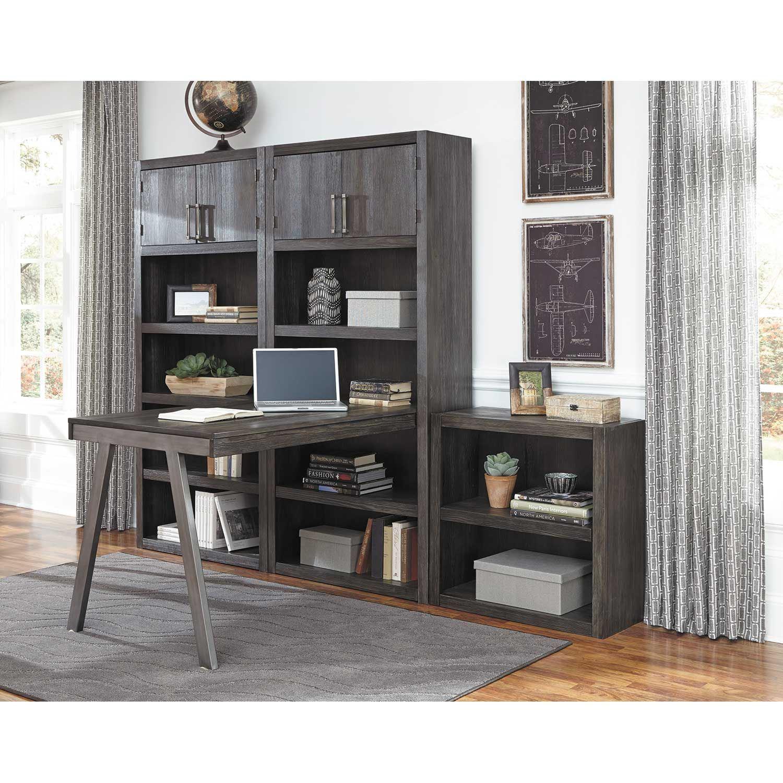 Raventown Large Bookcase Desk Return H467 14 17