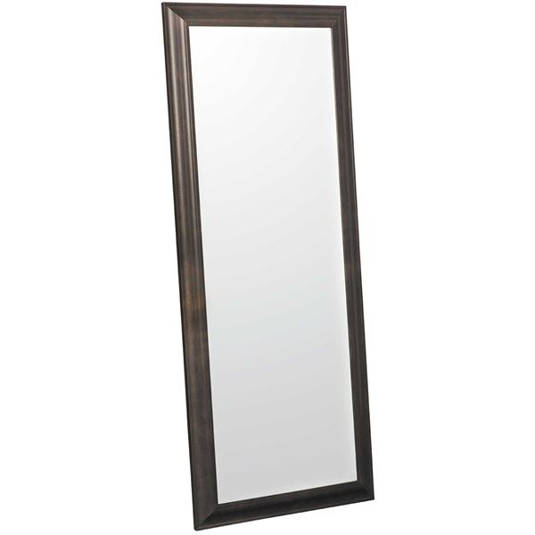 Picture of Transitional Espresso Leaner Mirror